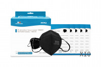 TAIDAKANG ® FFP 2 NR SELBSTFILTERNDE MASKE - Modell T8000 schwarz