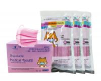 YINHONYUHE ® Disposable Medical Mask Kindermasken Pink