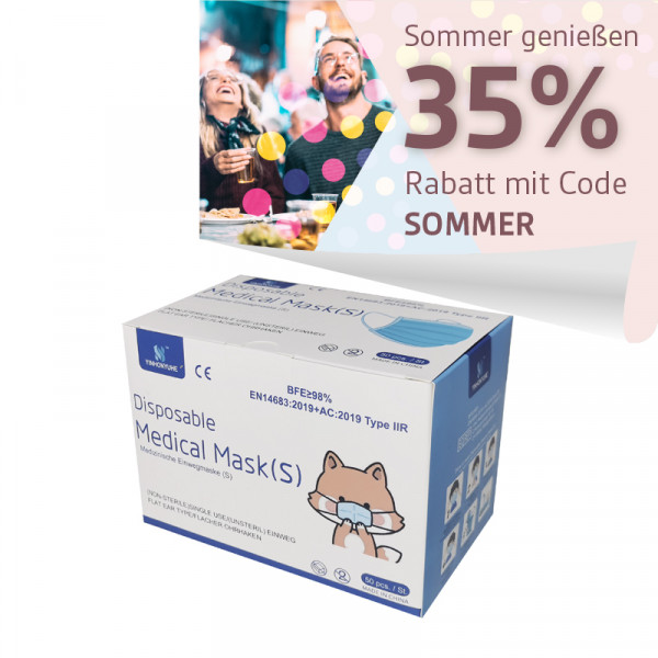 YINHONYUHE ® Disposable Medical Mask für kleine Gesichter z.B Kinder motiv