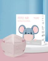 YUXI ® Filtering Half Mask FFP2 NR Kindermaske  *Pink