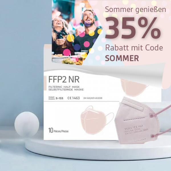 YUXI ® Filtering Half Mask FFP2 NR *pink